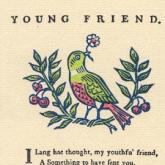 Epistle to a Young Friend Postcard
